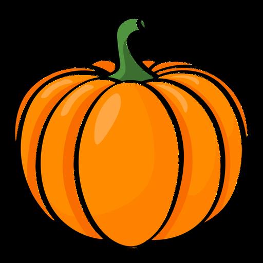 Big pumpkin color stroke