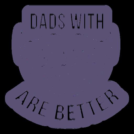 Dia del padre-diseños-de-papá-vinilo-invertido - 5