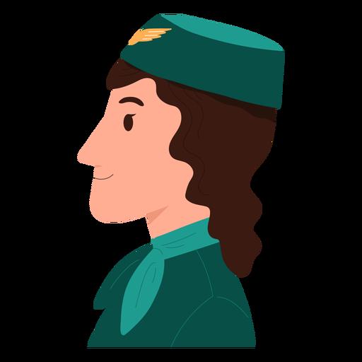 Flight attendant flat
