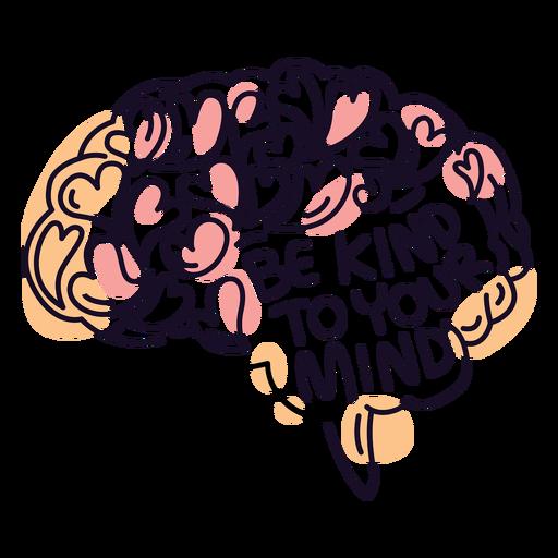 Be kind to ur mind badge