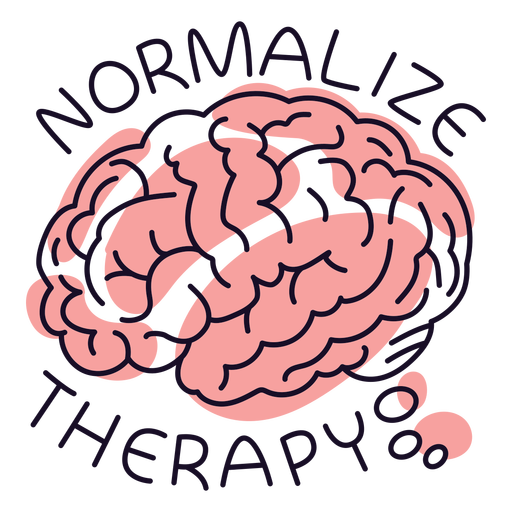 Normalize going to therapy badge