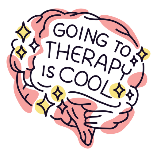 Mental health therapy badge