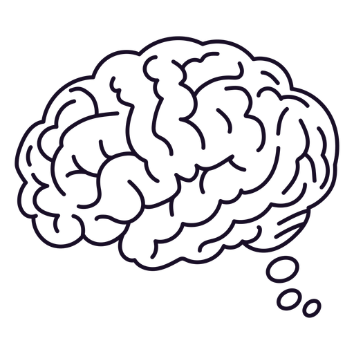 Brain thinking stroke