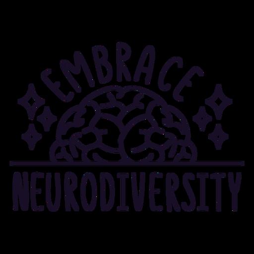 Embrace neurodiversity stroke