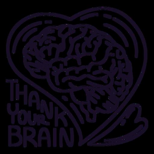 Thank your brain stroke