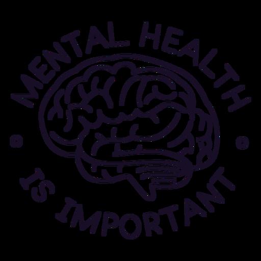 Mental health is important stroke