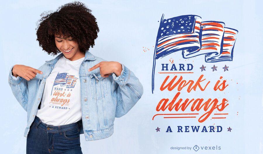 Labor day quote t-shirt design