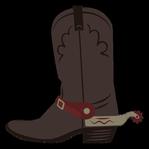 Cowboy boots semi flat