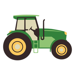 Farm tractor flat