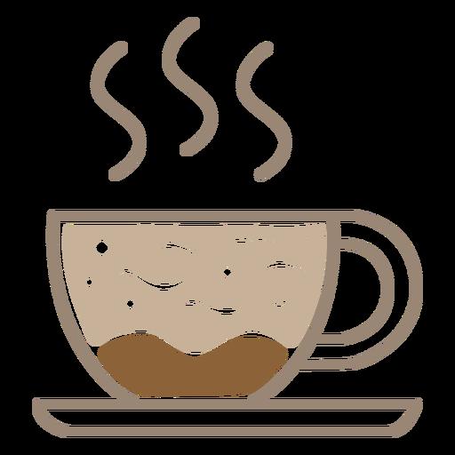 Warm drink coffee cup