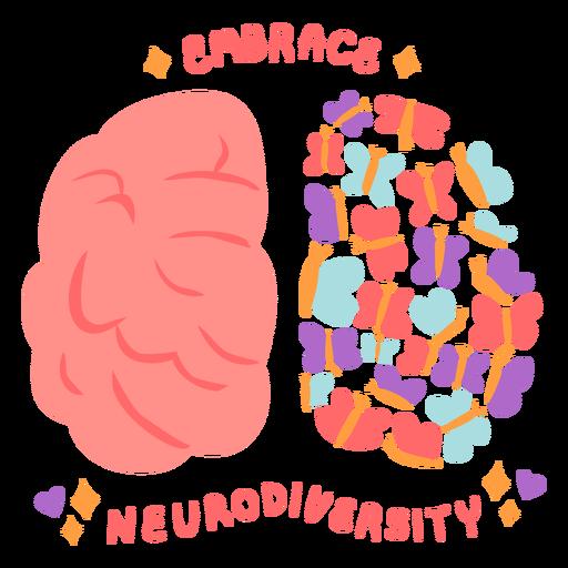 Embrace neurodiversity flat