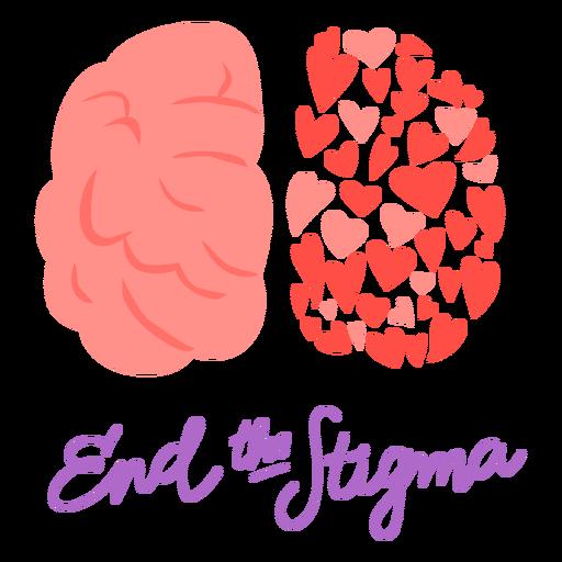 End the stigma flat