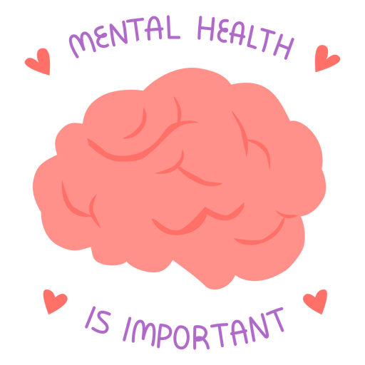Mental health is important flat