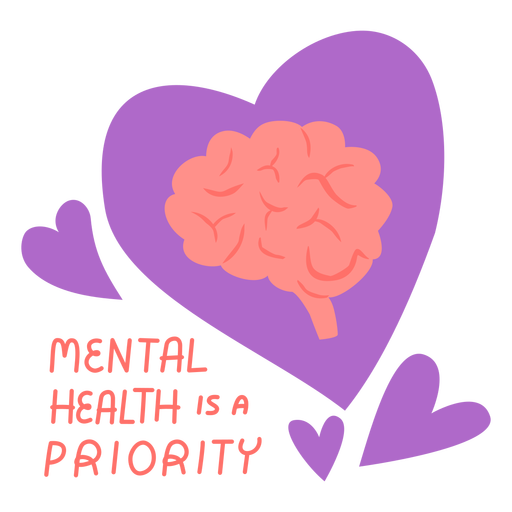 Mental health is a priority flat