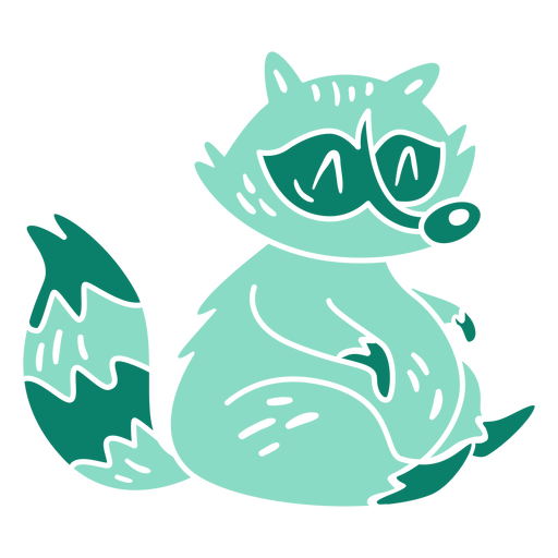 Racoon cut out