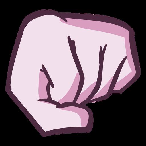 Fist color stroke