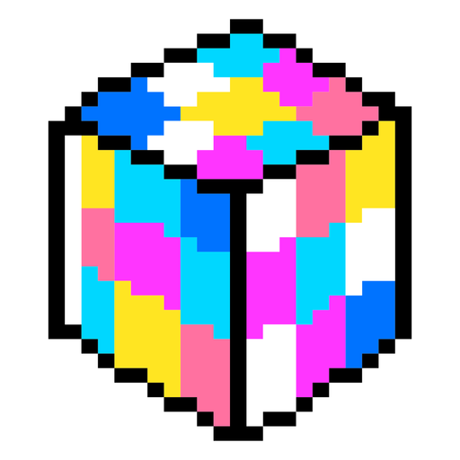 80er PixelArt + Neon Elements - 6