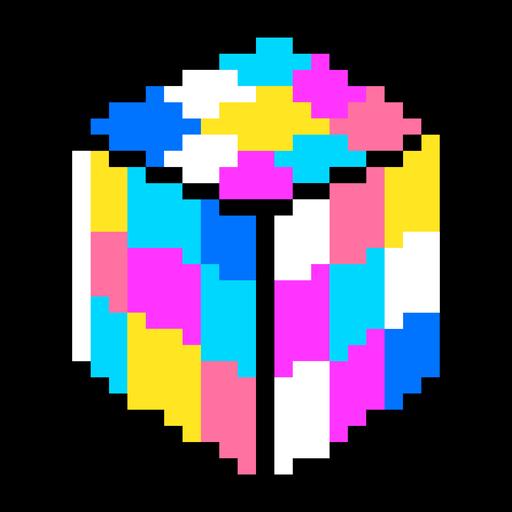 PixelArt de los 80 + elementos de neón - 6