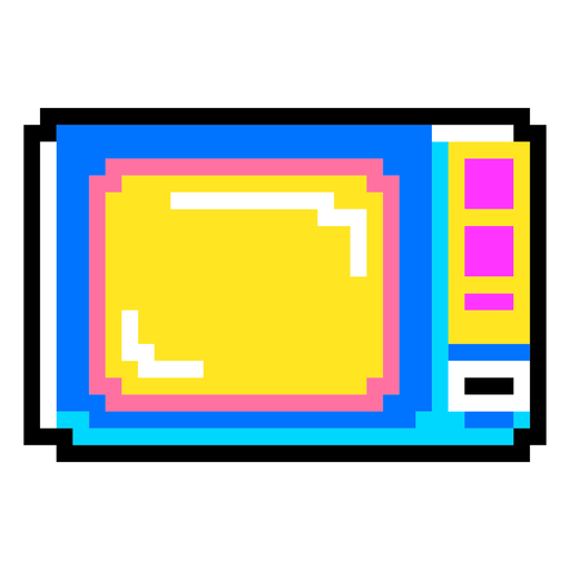 80er PixelArt + Neonelemente - 10