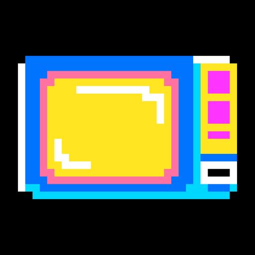 TV pixel art
