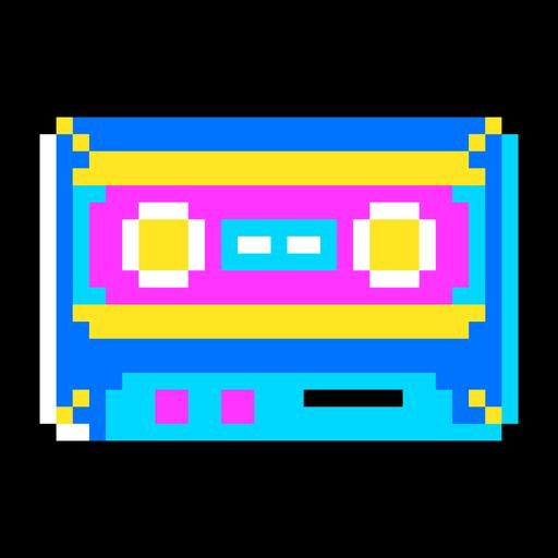 Casette tape pixel art