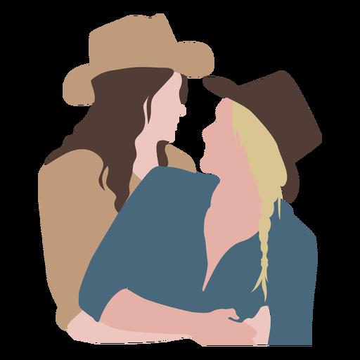 Cowboy couple flat