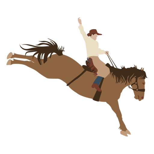 Horse riding flat