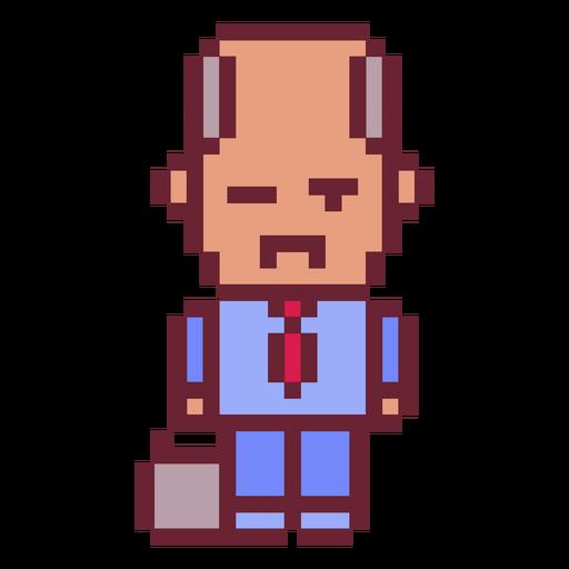 Business man pixel art