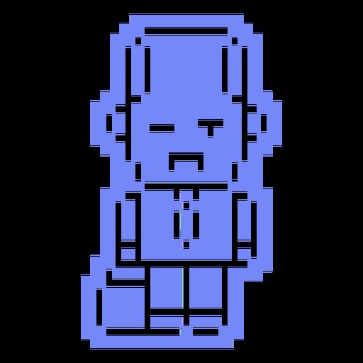 Pixel guy cut out
