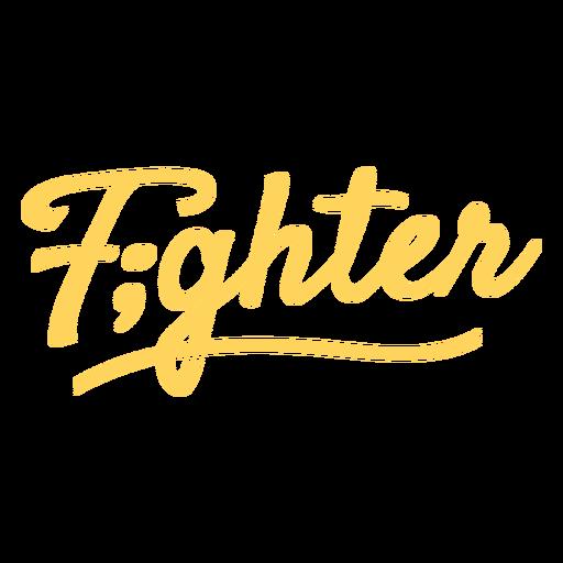 Fighter mental health badge
