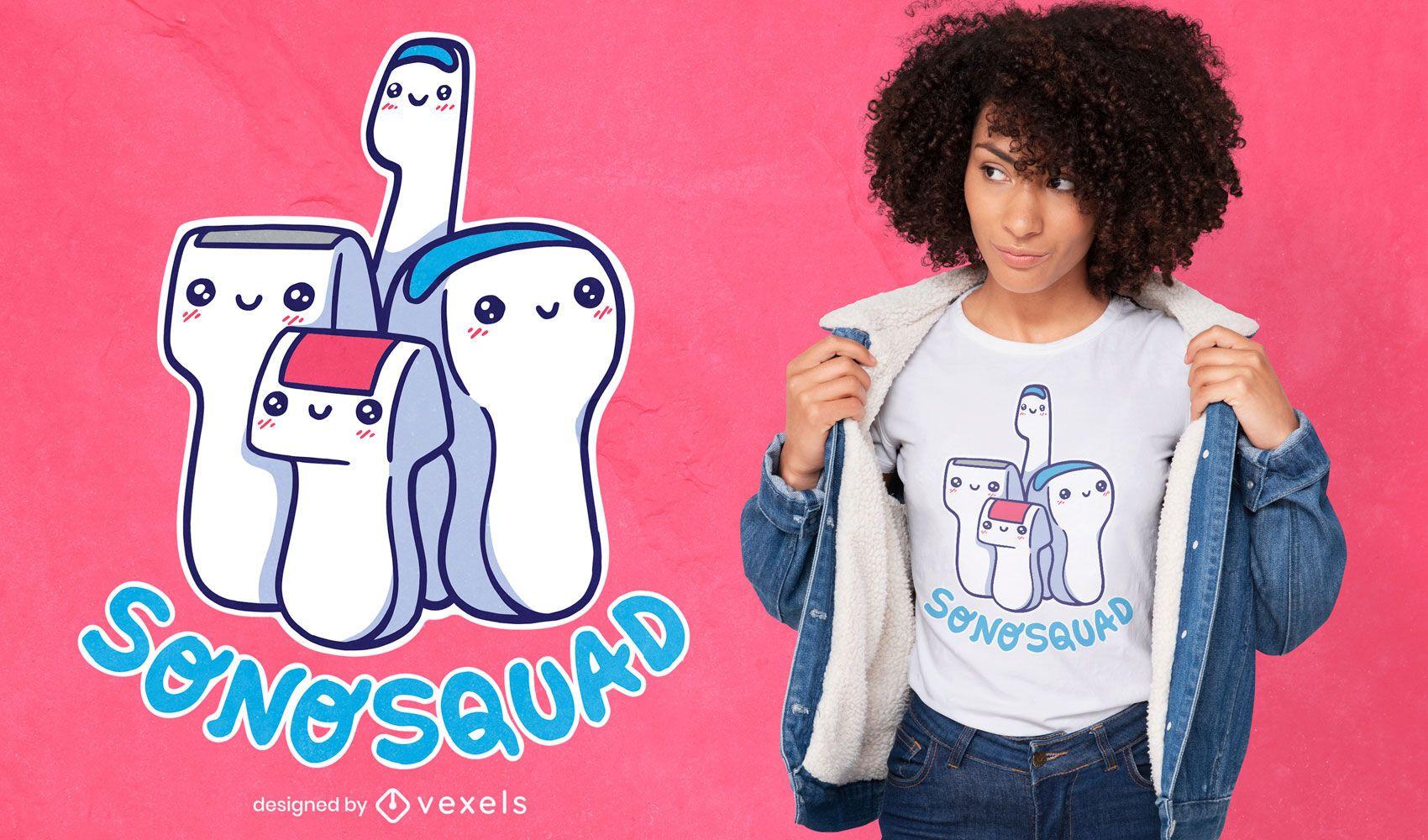 Medicine tools cute t-shirt design