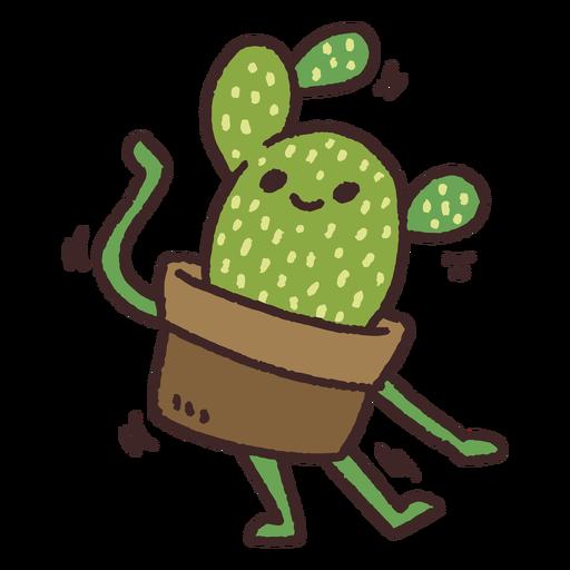 Dancing cactus cute