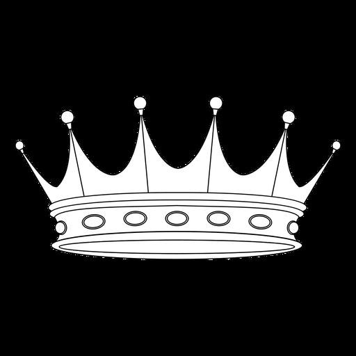 Classic king royal crown