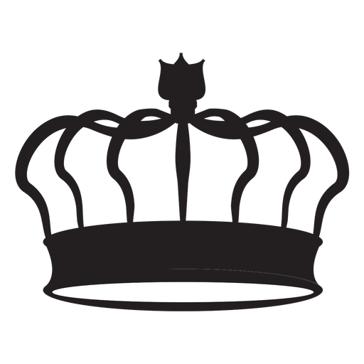 Classic crown cut out