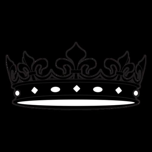 Prince royal crown cut out