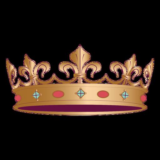 Simple prince royal crown