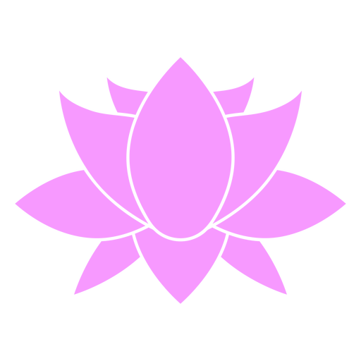Pointy flower cut out