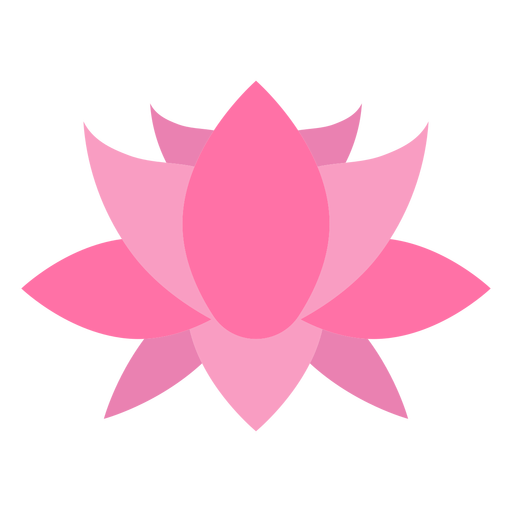 Pointy flower flat
