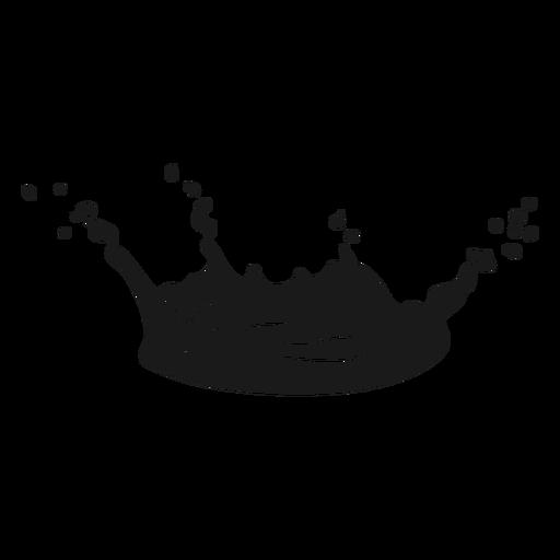 Liquid splat cut out