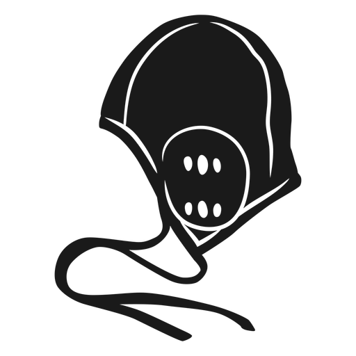 Waterpolo cut out helmet