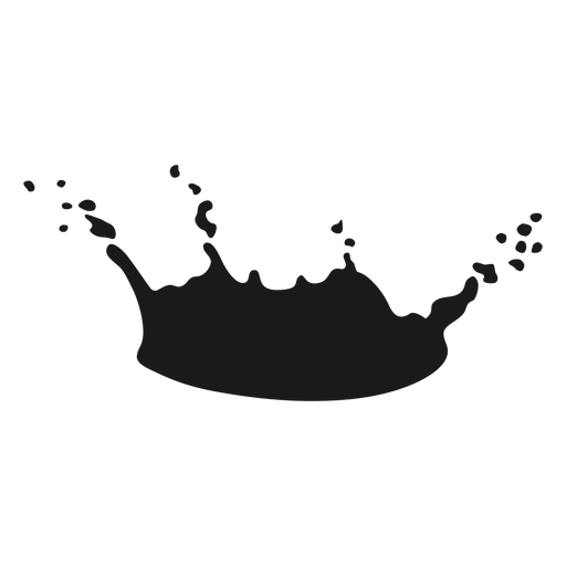 Liquid stain silhouette