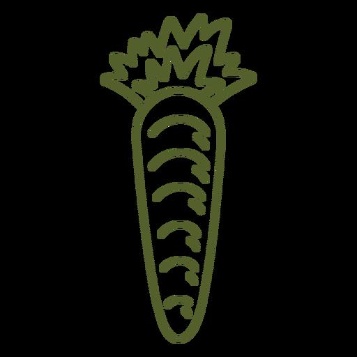 Carrot simple stroke