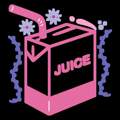 Pretty juice box  filled stroke