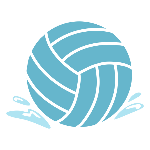 Simple cut out waterpolo ball