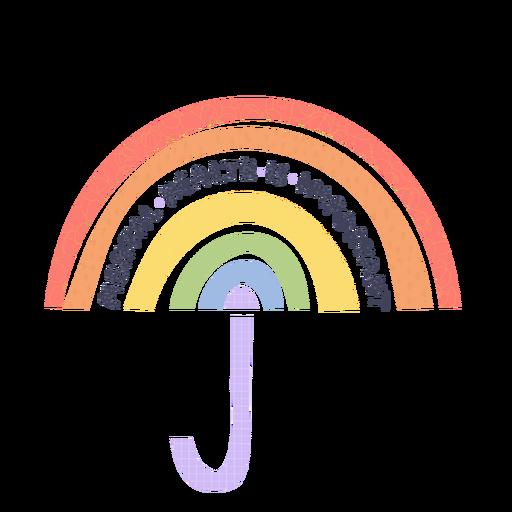 Mental health is important rainbow badge