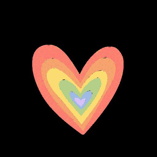 Psychische Gesundheit Rainbows Texture - 11