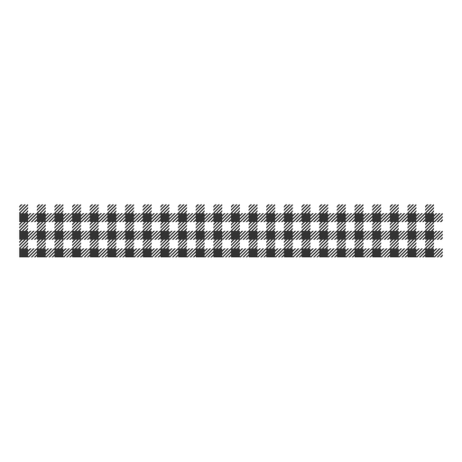 Black & white checkered pattern filled stroke