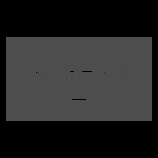 Martini alcohol drink label