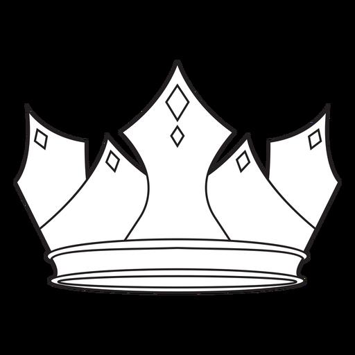 Beautiful crown stroke