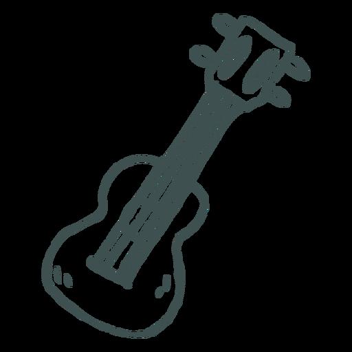 Ukulele instrument doodle